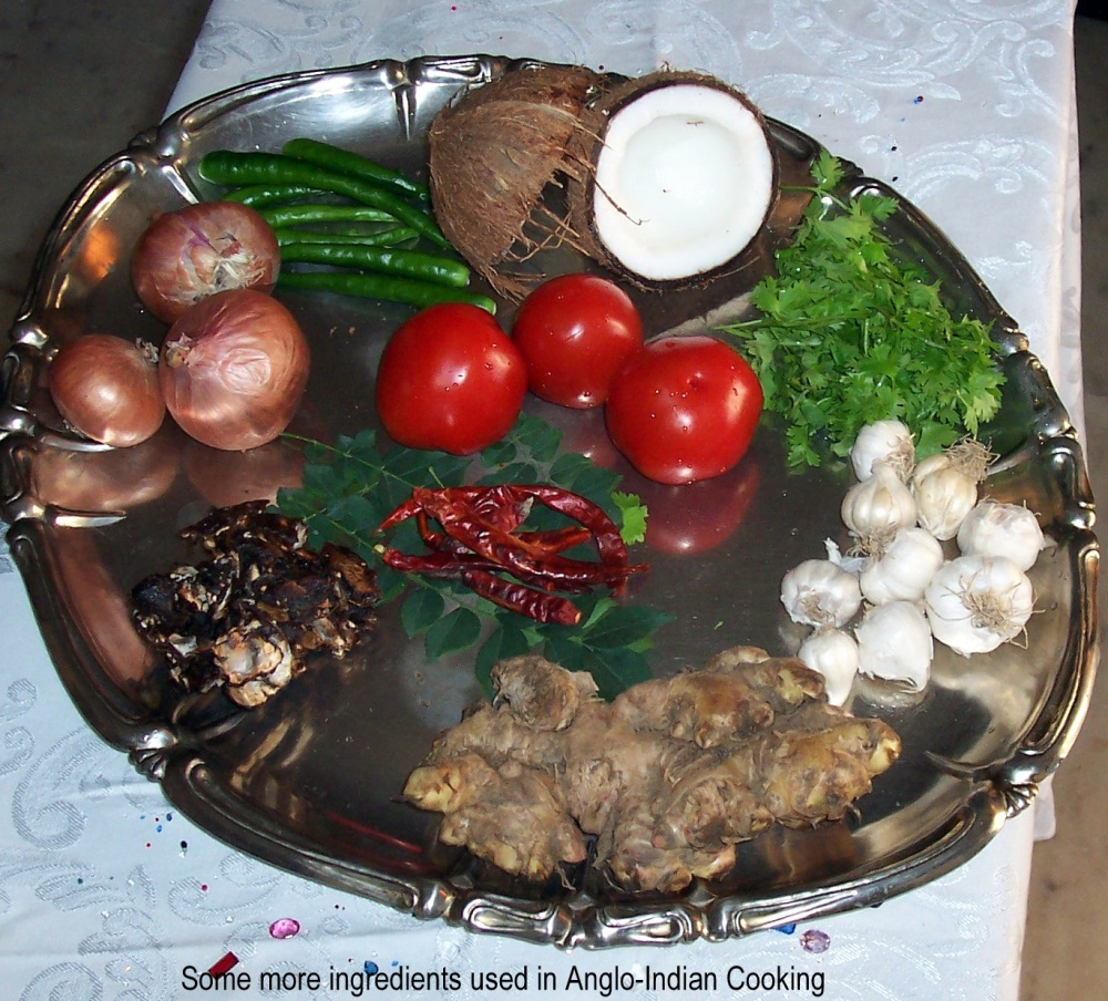 SOME INGREDIENTS USED IN ANGLO-INDIAN COOKING (2/2)