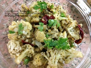 Cauliflower Foogath