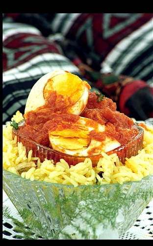 EGG VINDALOO – ANGLO-INDIAN EGG VINDALOO