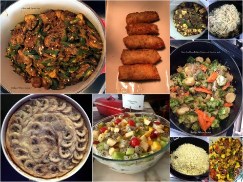 Collage of Vegetrian dishes