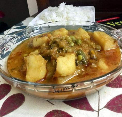 Vegetable curry 8