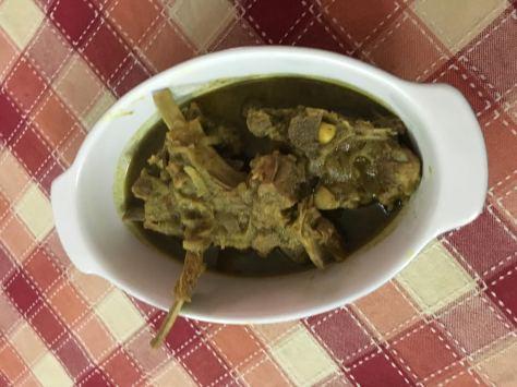 green masala chops