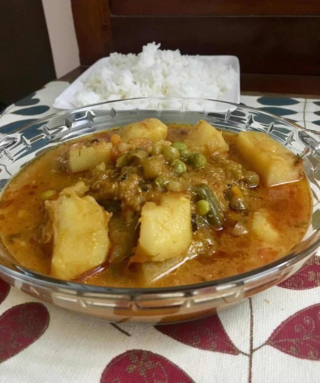 vegetable cury 6