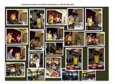 Cooking Demo at Catholic Club 1