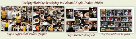Collages of workshops 1