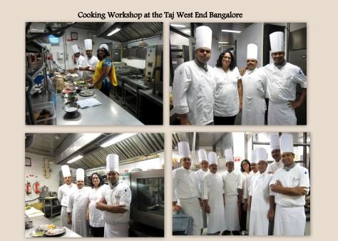 Workshop at Taj West End