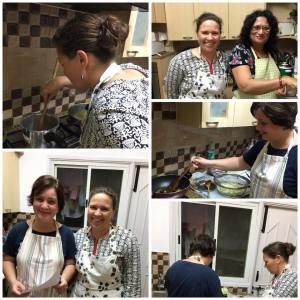 Veg Cooking classes with Petra and Nichole on 10th feb